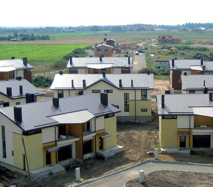 nauja statyba, individualus namai